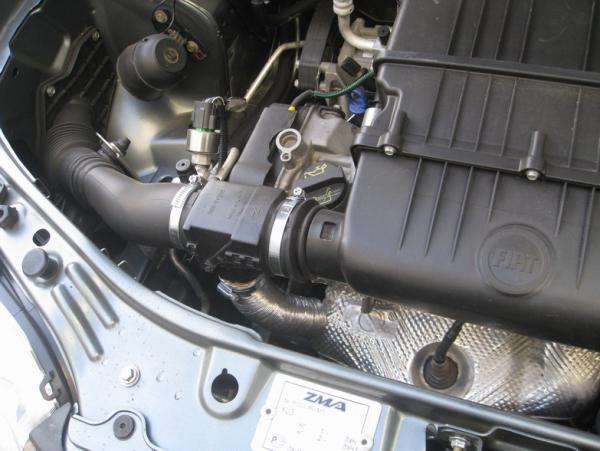 фиат альбеа датчик температуры двигателя где находится
